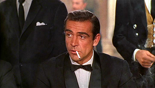 Cool, Calm and Collected at all times, observe how Mr. James Bond handles everyday situations and you will have a good idea how to deal with these women in your life...