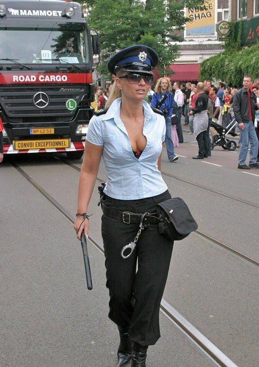 European Police Woman
